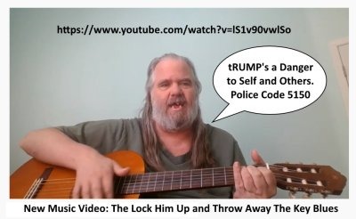 https://www.youtube.com/watch?v=lS1v90vwlSo Music Video: The Lock Him Up and Throw Away The Key Blues