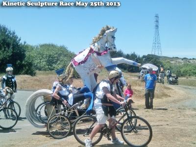 Kinetic Sculpture Race Arcata, CA- Horse - gvan42